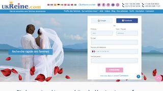 Belles femmes russes et ukrainiennes à marier