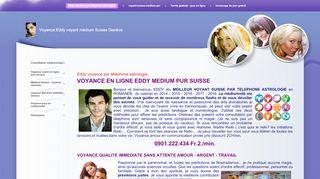 Eddy voyance suisse par téléphone astrologie