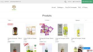 Produits cosmétiques BIO du terroir du Maroc