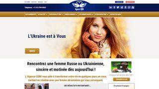 Agence Matrimoniale Femmes Russes et Ukrainiennes