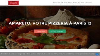 Délicieuses pizzas à la pizzeria Amatero à Paris