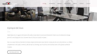 Meubles modernes et design à Anderlecht