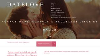 Agence matrimoniale et speed-dating à Bruxelles
