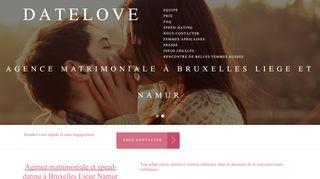 Agence matrimoniale et speed-dating à Bruxelles