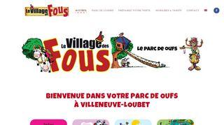 Parc de loisirs à Villeneuve-Loubet