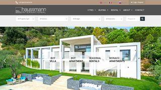 Expert de l'immobilier de luxe sur la Côte d'Azur