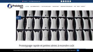 Conception de prototypes avec Prototech Asia