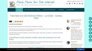 Faire faire son site internet de Cnathalie.com création et vente de site web existant