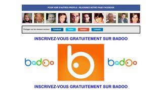 Faites des rencontres sur le réseau Badoo