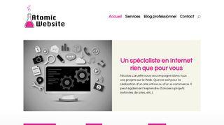 Atomic Website: une agence web de référence