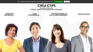 CréActifs, formation en création d'entreprise