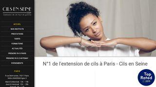 Services d'extension de cils en région Parisienne