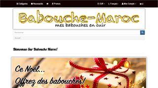 Babouche Maroc: Le spécialiste de la Babouche Cuir En France et Dans le Monde
