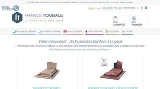 France Tombale, entreprise des pompes funèbres