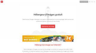 Service d'hébergement d'images gratuit