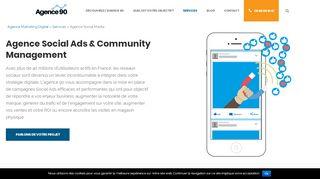 Agence Social Ads & Community Management