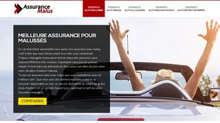 Comparer les offres d'assurances malus