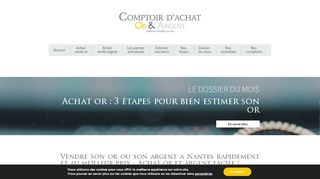 Comptoir d'Achat Or et Argent Nantes