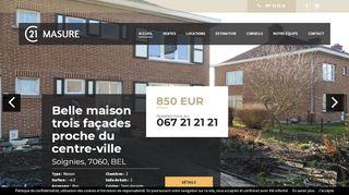 C21 Masure : agence immobilière à Soignies