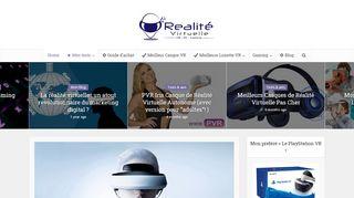 Tout sur le casque de réalité virtuelle