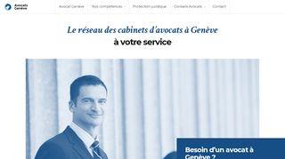 Joindre des avocats à Genève en Suisse