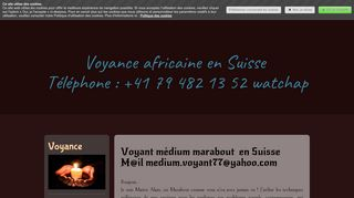 Meilleur marabout africain dans le canton de Vaud