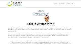 La Gestion de crise en situation d'urgence