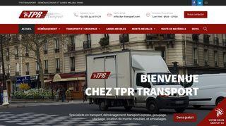 TPR Transport, votre déménageur Paris Londres