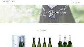 La boutique des champagnes de Saint Gall