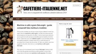 Tout savoir sur la machine à café grain DeLonghi