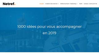 Agence de communication web Netref à Dijon