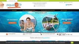Boutique en ligne d'aquabikes pas chers