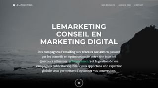 Lemarketing spécialiste du marketing digital