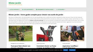 Opérer des choix judicieux de matériels de jardinage