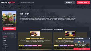 Guide pour choisir un serveur minecraft