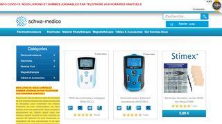 Schwa Medico, vente en ligne d'électrostimulateurs