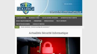 Sekurigi, découvrir les objets connectés